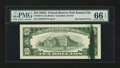 Error Notes:Ink Smears, Fr. 2017-J $10 1963A Federal Reserve Note. PMG Gem Uncirculated 66EPQ.. ...