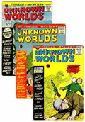 Silver Age (1956-1969):Horror, Unknown Worlds Group (ACG, 1960-67) Condition: Average VG+....(Total: 15 Comic Books)