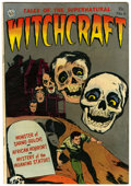 Golden Age (1938-1955):Horror, Witchcraft #6 (Avon, 1953) Condition: FN+....