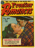 Golden Age (1938-1955):Romance, Frontier Romances #2 (Avon, 1950) Condition: FN....
