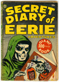 Golden Age (1938-1955):Horror, Secret Diary of Eerie Adventures #1 (Avon, 1953) Condition: GD+....