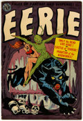 Golden Age (1938-1955):Horror, Eerie #10 (Avon, 1952) Condition: FN-....