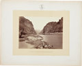 Photography:Official Photos, Expedition Survey Albumen: River Campsite. ...