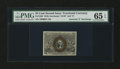 Fractional Currency:Second Issue, Fr. 1286 25¢ Second Issue PMG Gem Uncirculated 65 EPQ....