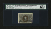 Fr. 1286 25¢ Second Issue PMG Gem Uncirculated 65 EPQ