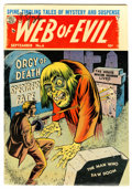 Golden Age (1938-1955):Horror, Web of Evil #6 (Quality, 1953) Condition: VG-....