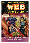Golden Age (1938-1955):Horror, Web of Mystery #2 (Ace, 1951) Condition: VF-....