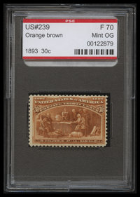 30c Orange Brown (239)