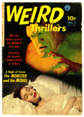 Golden Age (1938-1955):Horror, Weird Thrillers #1 (Ziff-Davis, 1951) Condition: GD+....