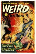 Golden Age (1938-1955):Horror, Weird Thrillers #5 (Ziff-Davis, 1952) Condition: VG....