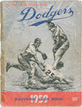 Baseball Collectibles:Publications, 1959 Los Angeles Dodgers Team Signed Yearbook....