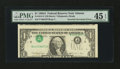 Error Notes:Inverted Third Printings, Fr. 1915-F $1 1988A Federal Reserve Note. PMG Choice Extremely Fine45 EPQ.. ...