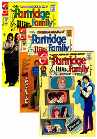 Partridge Family File Copies Group (Charlton, 1971-73) Condition: Average FN/VF.... (Total: 15 Comic Books)