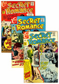 Bronze Age (1970-1979):Romance, Secret Romance File Copies Group (Charlton, 1969-79) Condition:Average VF.... (Total: 34 Comic Books)