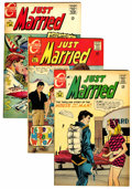 Bronze Age (1970-1979):Romance, Just Married File Copies Group (Charlton, 1968-76) Condition:Average VF.... (Total: 28 Comic Books)