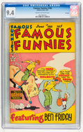 Golden Age (1938-1955):Humor, Famous Funnies #188 File Copy (Eastern Color, 1950) CGC NM 9.4 Cream to off-white pages....
