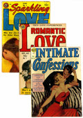 Golden Age (1938-1955):Romance, Miscellaneous Golden Age Romance Group (Avon, 1950s).... (Total: 3Comic Books)