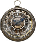 Timepieces:Pocket (pre 1900) , William Kipling London Early Verge Fusee, circa 1710. ...