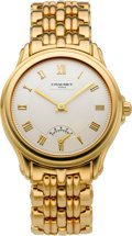 Timepieces:Wristwatch, Chaumet Fine Gold Automatic Wristwatch With Power Indicator, circa 1990. ...