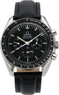 Timepieces:Wristwatch, Omega 145.022 Speedmaster Professional Moon Watch, circa 1970's. ...