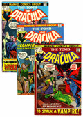 Bronze Age (1970-1979):Horror, Tomb of Dracula Group (Marvel, 1972-76).... (Total: 11 Comic Books)