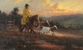 Paintings, BRUCE GREENE (American, b. 1953). Headin' Home. Oil on canvas. 22 x 36 inches (55.9 x 91.4 cm). Signed lower left: Br ...