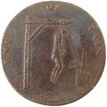 Political:Tokens & Medals, 1793 Thomas Paine Satirical Hanging Token....