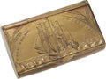 "Antiques:Antiquities, Rare Early Nineteenth Century ""Free Trade No Corn Laws""Brass-Plated Snuff Box...."