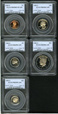 Certified Modern Proof Sets: , 1985-S Proof Set PR69 Deep Cameo PCGS, includes a Penny Red;Nickel; Dime; Quarter; and a Kennedy Half Dollar.... (Total: 5Coins Item)