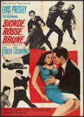 "Movie Posters:Elvis Presley, It Happened at the World's Fair (MGM, 1963). Italian 2 - Foglio(39"" X 55""). Elvis Presley.. ..."