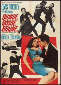 "It Happened at the World's Fair (MGM, 1963). Italian 2 - Foglio (39"" X 55""). Elvis Presley"