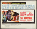 "Movie Posters:War, Morituri (20th Century Fox, 1965). Half Sheet (22"" X 28""). War.Also known as The Saboteur.. ..."