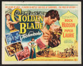 "Movie Posters:Adventure, The Golden Blade (Universal International, 1953). Half Sheet (22"" X28"") Style B. Adventure.. ..."