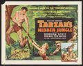 "Movie Posters:Adventure, Tarzan's Hidden Jungle (RKO, 1955). Half Sheet (22"" X 28""). StyleA. Adventure.. ..."