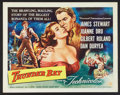 "Movie Posters:Adventure, Thunder Bay (Universal International, 1953). Half Sheet (22"" X28""). Adventure.. ..."