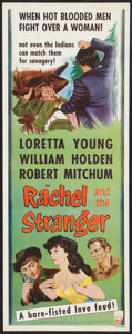 "Movie Posters:Western, Rachel and the Stranger (RKO, R-1953). Insert (14"" X 36""). Western.. ..."