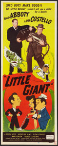 "Movie Posters:Comedy, Little Giant (Realart, R-1951). Insert (14"" X 36""). Comedy.. ..."