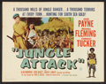 "Movie Posters:Adventure, Crosswinds (Citation Films, R-1961) One Sheet (22"" X 28"").Adventure. Rereleased as Jungle Attack.. ..."