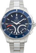 Timepieces:Wristwatch, Tag Heuer Aquaracer Calibre S Gent's Wristwatch, circa 2005. ...
