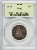 Proof Seated Quarters, 1876 25C PR65 PCGS....