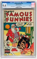 Golden Age (1938-1955):Miscellaneous, Famous Funnies #161 File Copy (Eastern Color, 1947) CGC NM 9.4 Cream to off-white pages....