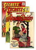 Silver Age (1956-1969):Romance, Secrets of Young Brides File Copies Group (Charlton, 1957-63)Condition: Average FN+.... (Total: 8 Comic Books)