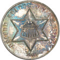 Proof Three Cent Silver, 1863 Three Cent Silver PR63 NGC....