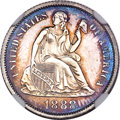 Proof Seated Dimes, 1888 Seated Dime PR62 NGC....