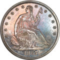 Proof Seated Half Dollars, 1865 Seated Half PR63 NGC....