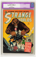Golden Age (1938-1955):Science Fiction, Strange Worlds #7 (Avon, 1952) CGC Apparent VF- 7.5 Slight (A)Off-white pages....