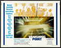 "Movie Posters:Action, Vanishing Point (20th Century Fox, 1971). Half Sheet (22"" X 28"").Action.. ..."