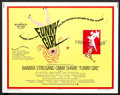 "Movie Posters:Musical, Funny Girl (Columbia, 1968). Half Sheet (22"" X 28""). Musical.. ..."