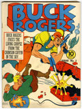 Golden Age (1938-1955):Science Fiction, Buck Rogers #3 (Eastern Color, 1941) Condition: FN....