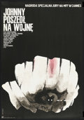"Movie Posters:War, Johnny Got His Gun (Cinemation Industries, 1971). Polish One Sheet(23"" X 33""). War.. ..."